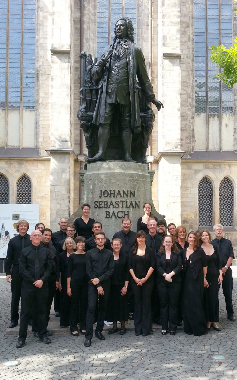 The Oriana Consort in Leipzig, August 2013